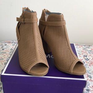 Stack Heeled Sandals